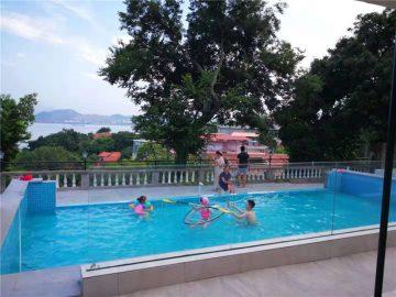 100mm 150mm di spessore Piscina di lusso in vetro acrilico plexi per grandi piscine