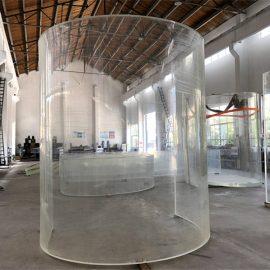 lastra di vetro plexi acrilico lucite curvo per acquario marino