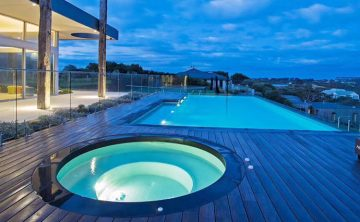 piscina acrilica