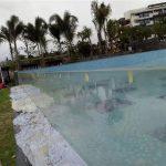 pannelli per piscine acriliche esterne tagliate su misura